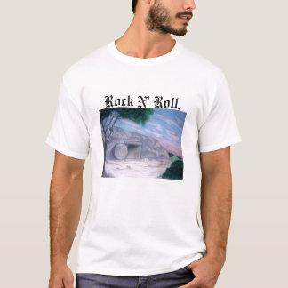 Camiseta aas, rolo de N da rocha