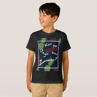 Camiseta Abacaxi de Maurícia