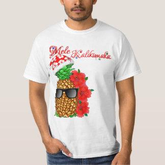 Camiseta Abacaxi do Natal de Mele Kalikimaka