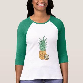 Camiseta Abacaxis e Cocoanuts