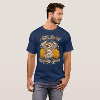 Camiseta Abastecido pela especiaria da abóbora