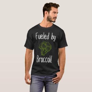 Camiseta Abastecido pelo vegetal do vegetariano do Vegan