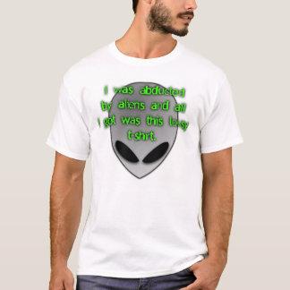 Camiseta Abducção estrangeira V1.0.