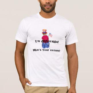 Camiseta Abe deplorável