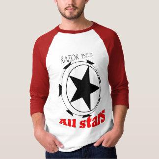 Camiseta Abelha da lâmina todas as estrelas