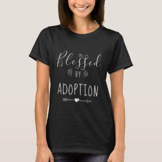 Camiseta Abençoado pela adopção - a assistência social,
