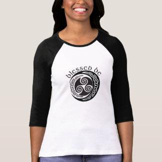 Camiseta Abençoado seja - lua tripla celta