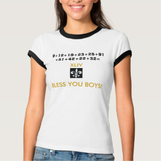 Camiseta Abençoe-o meninos