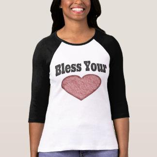 Camiseta Abençoe seu coração - provérbio do sul
