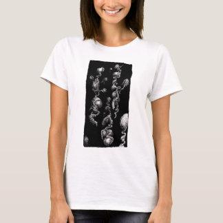 Camiseta aberrações orgânicas deflutuação