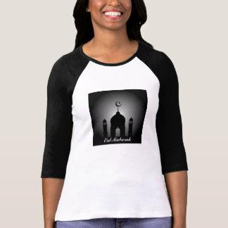 Camiseta Abóbada da mesquita e silhueta do minarete