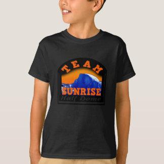 Camiseta Abóbada do nascer do sol da equipe de Actionwear