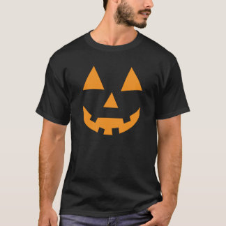 Camiseta Abóbora engraçada da lanterna do o do jaque do Dia
