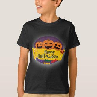 Camiseta Abóbora feliz do Dia das Bruxas