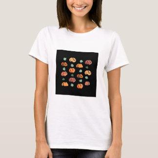 Camiseta Abóboras com o t-shirt básico das mulheres das