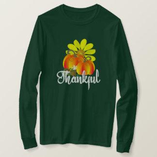 Camiseta Abóboras gratas da queda do outono gráficas