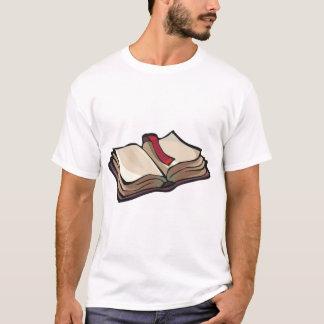 Camiseta Abra o t-shirt dos homens do livro