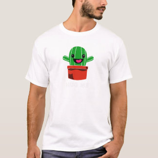 Camiseta Abrace-me - cacto