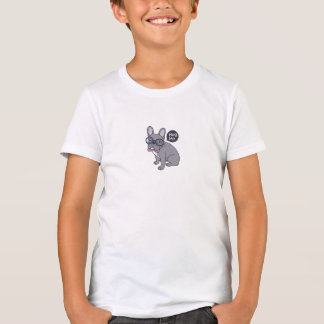 Camiseta Abrace-me, necessidades bonitos de Frenchie do