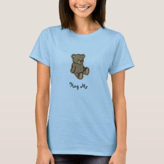 Camiseta Abrace-me urso de ursinho