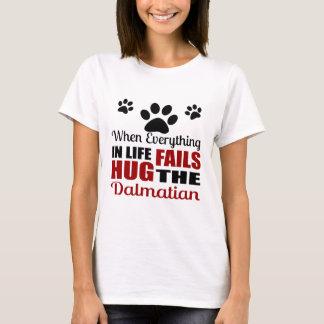 Camiseta Abrace o cão Dalmatian