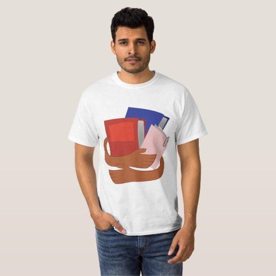 Camiseta Abrace seu livros