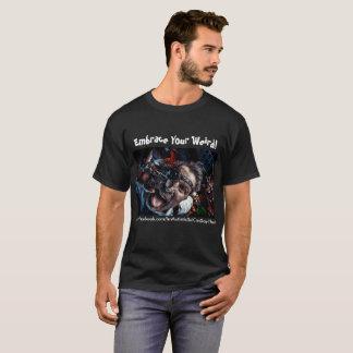 Camiseta Abrace seu t-shirt estranho