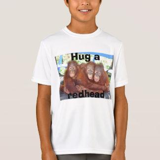 Camiseta Abrace um Redhead (o T do orangotango)