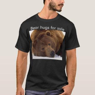Camiseta Abraços de urso para a venda