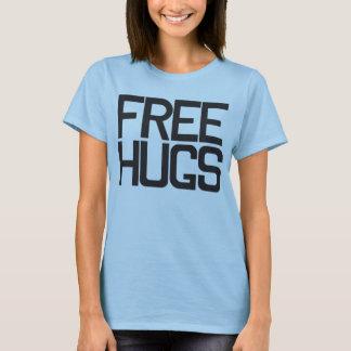 Camiseta Abraços livres!