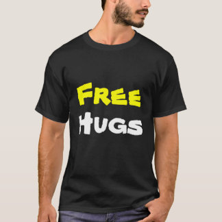 Camiseta Abraços livres (com reverso)