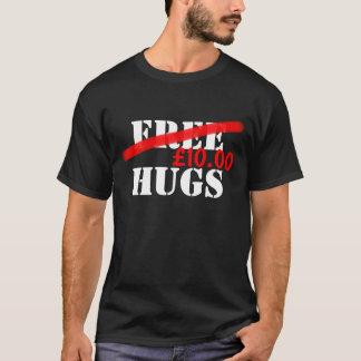 Camiseta Abraços livres (preço Customisable)