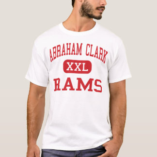 Camiseta Abraham Clark - ram - alto - Roselle New-jersey
