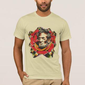 Camiseta Abraham Lincoln aumentou