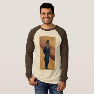 Camiseta Abraham Lincoln - t-shirt original do impressão