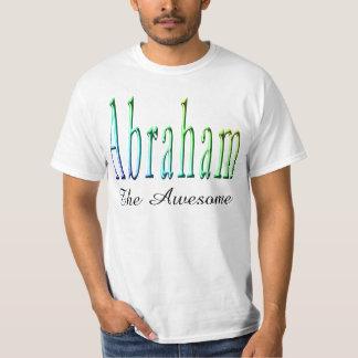 Camiseta Abraham, o t-shirt impressionante do branco dos