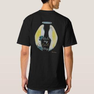 """Camiseta Abrigo de Phoenix """"sob T da Asa do meu senhor"""""""