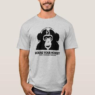 Camiseta Abrigue seu macaco