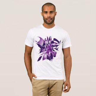 Camiseta Abstracção ultravioleta