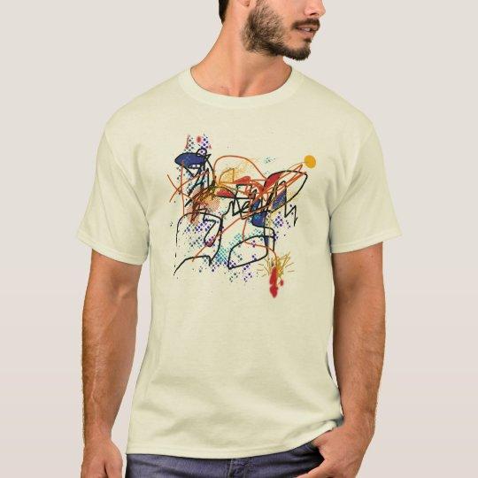 Camiseta Abstract art