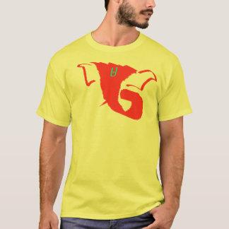 Camiseta Abstrato amarelo de Ganesh