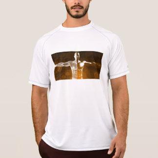 Camiseta Abstrato da ciência como uma arte do fundo do