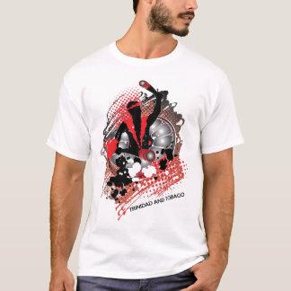 Camiseta abstrato do panman do trini