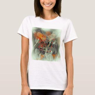 Camiseta Abstrato do pássaro