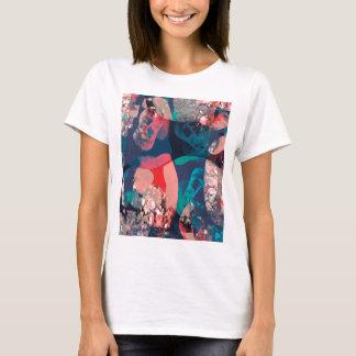 Camiseta Abstrato marmoreado