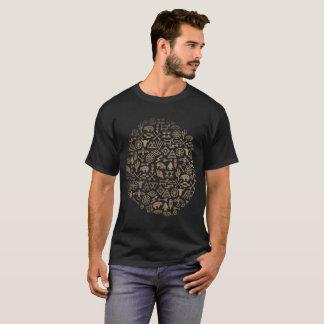 Camiseta Abstrato tribal do registro