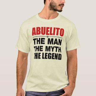 Camiseta Abuelito o homem o mito a legenda