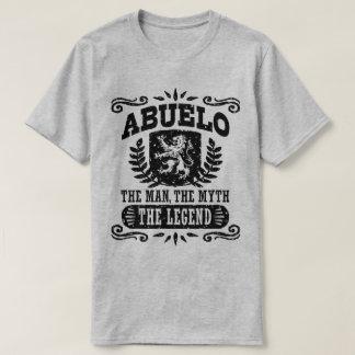 Camiseta Abuelo o homem o mito a legenda
