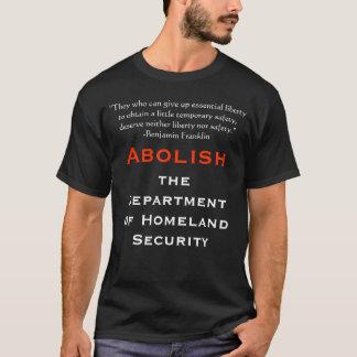 Camiseta Abula o departamento da segurança interna