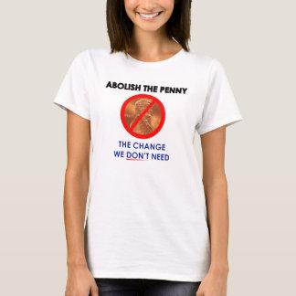 Camiseta Abula o t-shirt da moeda de um centavo